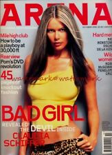 CLAUDIA SCHIFFER on Cover & Within ARENA Magazine, October 1999. Free UK Post
