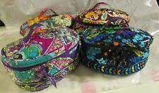 VERA BRADLEY Home and Away Cosmetic Case Bag College Travel FREE SHIPPING