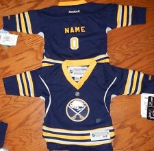 Buffalo Sabres Infant Reebok NHL Hockey Jersey add any name & number