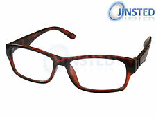 Unisex Reading Glasses Specs Red Leopard Print Specs Spectacles Readers RG012