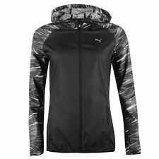 Puma Womens NightCat Jacket Breathable Lightweight WindCell Hooded Full Zip Top