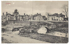 LINTON Yorks, View in the Village Showing Fountaine Inn, Old Postcard Unused