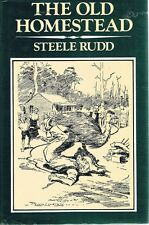 The Old Homestead by Rudd Steele - Book - Hard Cover - Australian Fiction
