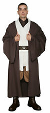Star Wars Obi Wan Kenobi Costume + Dark Brown Jedi Robe Film Set Quality from UK