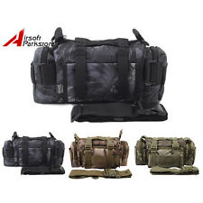 Tactical Molle Utility Waist Pack Pouch Military Camping Hiking Shoulder Bag