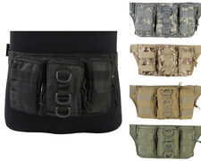 5Color Tactical Military Outdoor 1000D Molle Utility Triple Pouch Waist Pack Bag