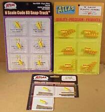 (T05) Lot Of Atlas N-Scale Rail Joiners NOS