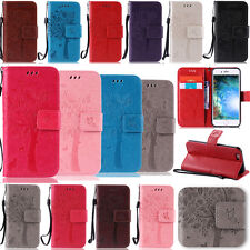-YPKT Embossing Leather Case Cover For Apple iPhone 7 Plus 6 6S Plus 5S 5C 4/4S