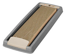 IRIS Cat Scratcher with Tray, Kitten Scratching Toy, Cat Scratching Tray