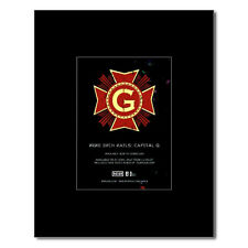 NINE INCH NAILS - Capital G Matted Mini Poster