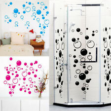Removable 86 Bubbles Wall Sticker Vinyl Mural Bathroom Shower Tile Decals Decor