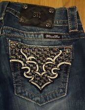 NWOT Miss Me Jeans JP5895B Boot Size 26X34