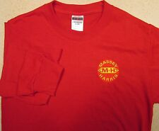 Mens Massey Harris Long Sleeve Embroidered T-shirt (5 colors)