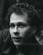 1987 Press Photo Frederick Reeder Stage Actor and Director
