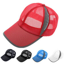 Fashion Summer Unisex Breathable Mesh Hat Sports Casual Baseball Cap