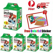 Fujifilm Instax Mini White Film Fuji Instant Photos for 7s 8 Plus 90 Polaroid AU