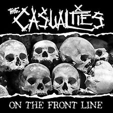 THE CASUALTIES On The Front Line CD 2004 Side One Dummy Records DIGIPAK ENHANCED