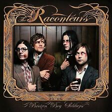 THE RACONTEURS Broken Boy Soldiers CD 2006 Third Man Records Jack White Stripes