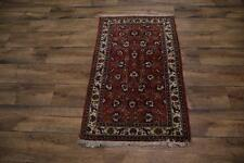 Semi-Antique Floral 3x4 Tabriz Persian Oriental Area Rug Carpet 4' 2'' x 2' 7''