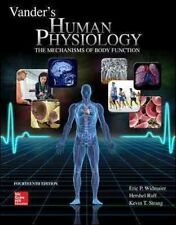 Loose-Leaf Vander's Human Physiology by Eric Widmaier 9781259592881