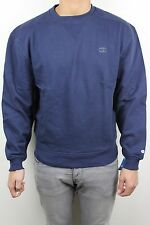 Champion Mens Super Crew Navy Blue Dark Gray C Pullover Crew Neck Sweatshirt NWT