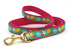 ANY SIZE - UP COUNTRY - MADE IN USA - DESIGNER DOG LEASH - REEF