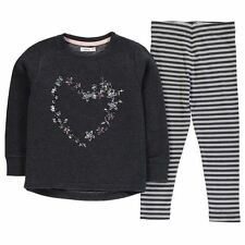 Heatons Kids Embellished Sweater Set Girls 2 Piece Jumper Leggings Bottoms Top