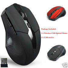 2.4GHz 1600 DPI Wireless Mice Optical Mouse Cordless USB for PC Computer Laptop