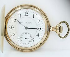 ILLINOIS WATCH CO. SPRINGFIELD U.S.A. POCKET WATCH CIRCA 1904 LEVER SET 17JEWEL