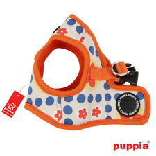 Any Size - PUPPIA - BLOSSOM - Soft Dog Puppy Harness Vest - Orange