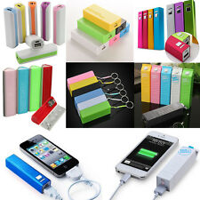 2600mAh Portable Backup External Power Bank Battery Charger For iPhone Samsung