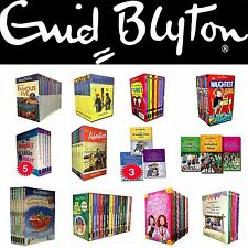 Enid Blyton Collection Books Box Set Famous Five, Secret Seven, Malory Towers