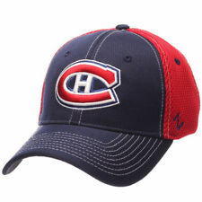 Montreal Canadiens Zephyr NHL Rally Spacer Mesh Flex Headwear - Navy