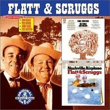 EARL SCRUGGS LESTER FLATT - HIS FAMILY & FRIENDS NASHVILLE AIRPLANE NEW CD