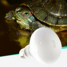 Tortoise Reptile Vivarium Light Beneficial UVA Basking Lamp Heat Bulb 25W-100W