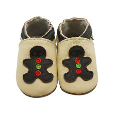 Sayoyo Baby Soft Sole Genuine Leather Toddler Slip Shoes Cartoon Crib Moccasins