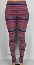 NEW LULULEMON Wunder Under Pants Hi-Rise 2 Space Dye Twist Navy Blue Light Flare
