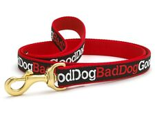 Any Size- Up Country - MADE IN USA - Designer Dog Puppy Leash - Good Dog Bad Dog