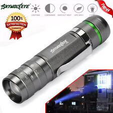 3000LM Zoomable CREE XM-L T6 LED 18650 Flashlight Torch Super Bright Light Lamp