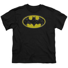 Batman Logo Bats In Logo DC Comics Big Boys T-Shirt Tee