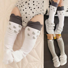 Cute Infant Baby Toddler Girls Boys Soft Leggings Leg Warmers Knee Long Socks