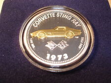 1973 Corvette Stingray Coin Medallion 73 Chevrolet Chevy Sting Ray FOR VETTE1