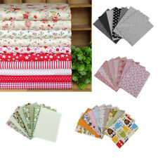 Floral Bundle 100% COTTON Offcut Fabric MATERIAL REMNANTS Craft Sewing 45 x 45cm