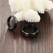 Wedding Forever love Steel titanium Band Couple Rings His and Her Promise Rings