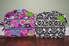 Vera Bradley FANFARE or FLUTTERBY Large Cosmetic Travel HANGING ORGANIZER - NWT