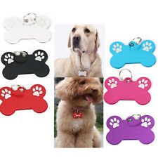 Bone Dog Cat Puppy Pet Collar Tag Personalised Identity ID tag Charms Cute