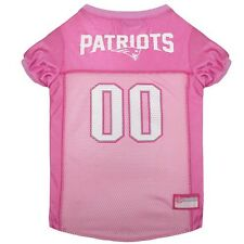 NFL New England Patriots pink dog jersey (all sizes) NEW