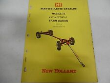 New Holland Model 19 Conestoga Farm Wagon Parts Manual