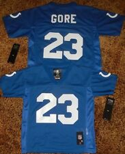 Indianapolis Colts Frank Gore Kids Size 4/7  Replica NFL Team Apparel Jersey