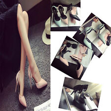 LADIES HIGH HEELS NEW STILETTO COURT SHOES CASUAL SIZE 5-8 SEXY CLUBWEAR PARTY